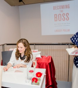 Becoming the Boss launch party