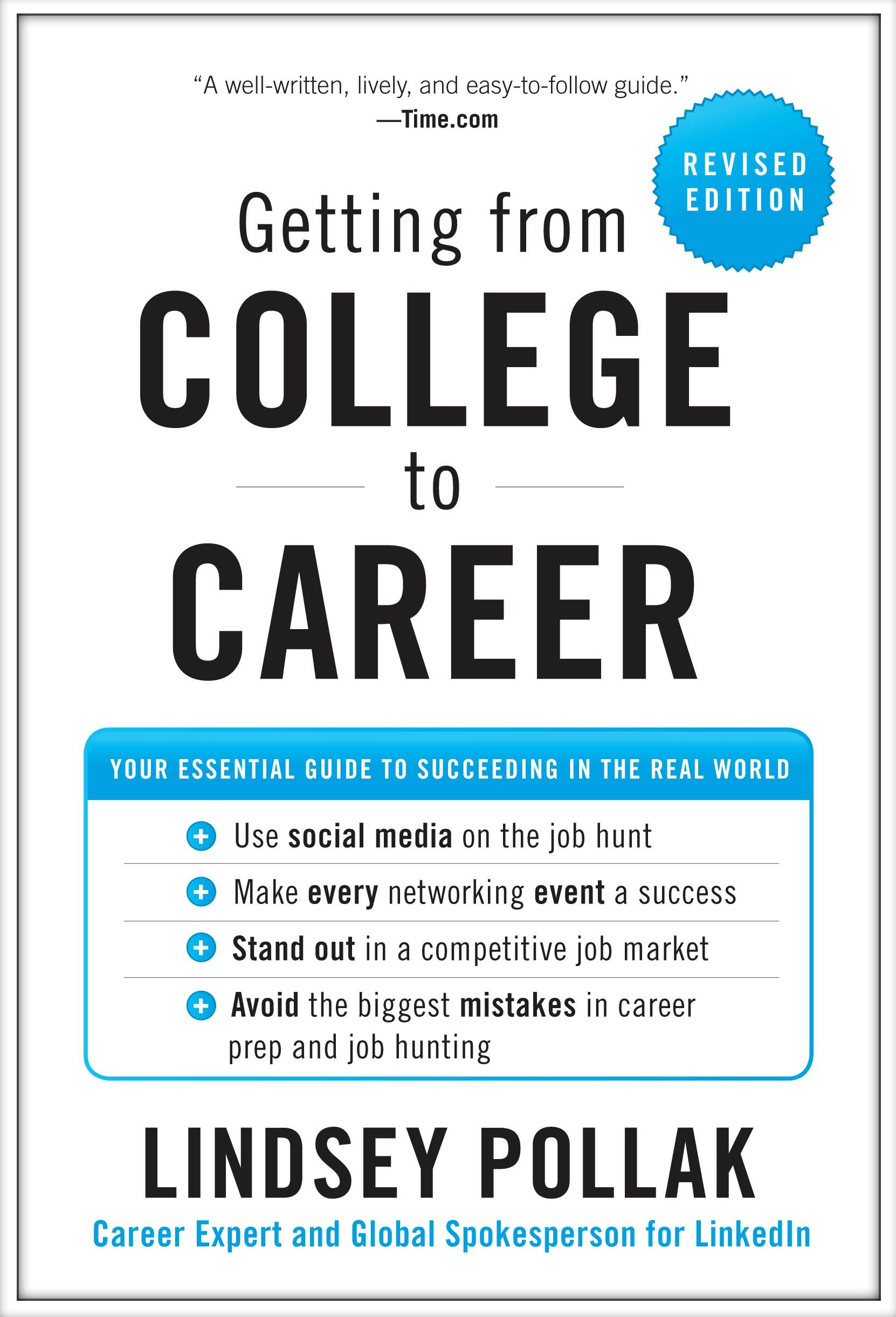 Cover of the book Getting from College to Career by Lindsey Pollak