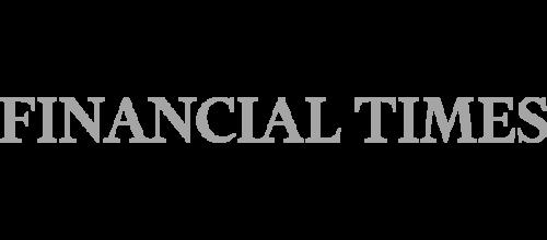 dark gray wordmark reading Financial Times