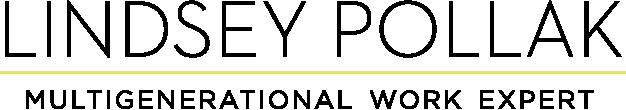 Logo for Lindsey Pollak - Multigenerational Work Expert