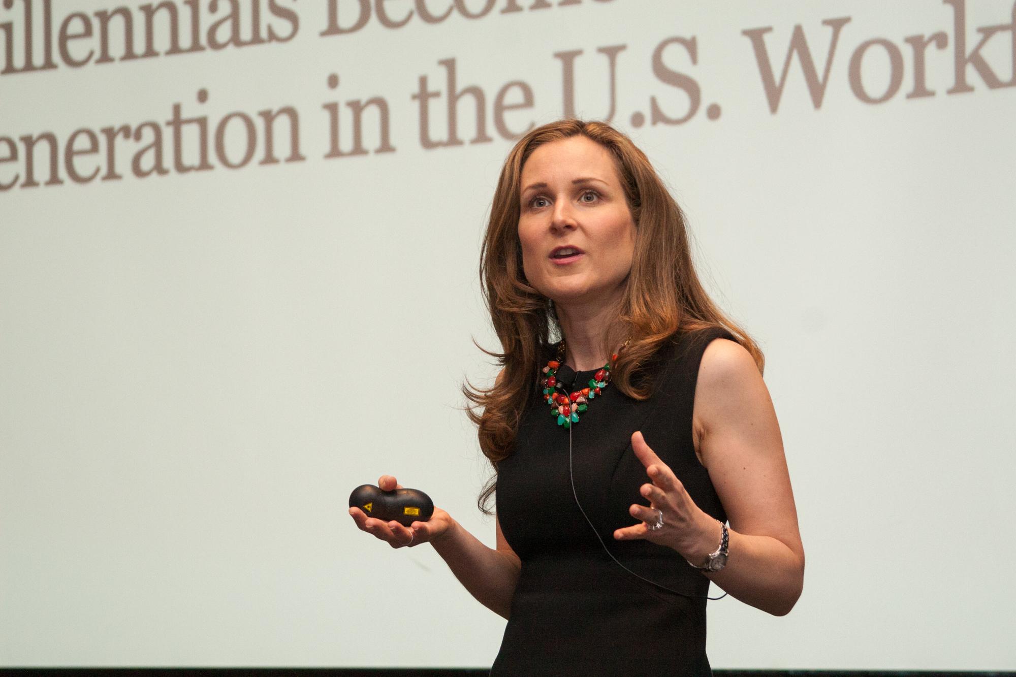 Lindsey Pollak workplace expert speaker