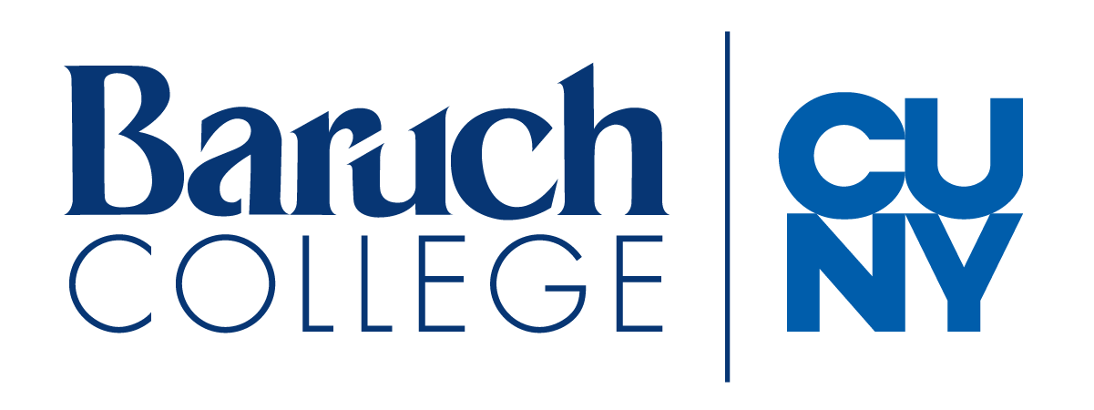 stacked logo for Baruch College and the City University of New York