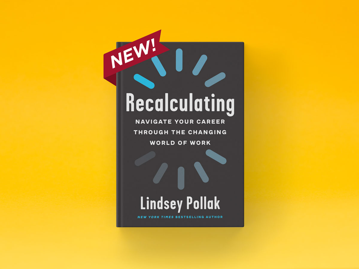 Lindsey Pollak new book Recalculating