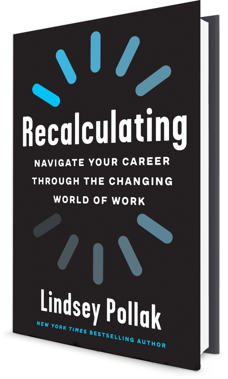 Cover of the book Recalculating by Lindsey Pollak