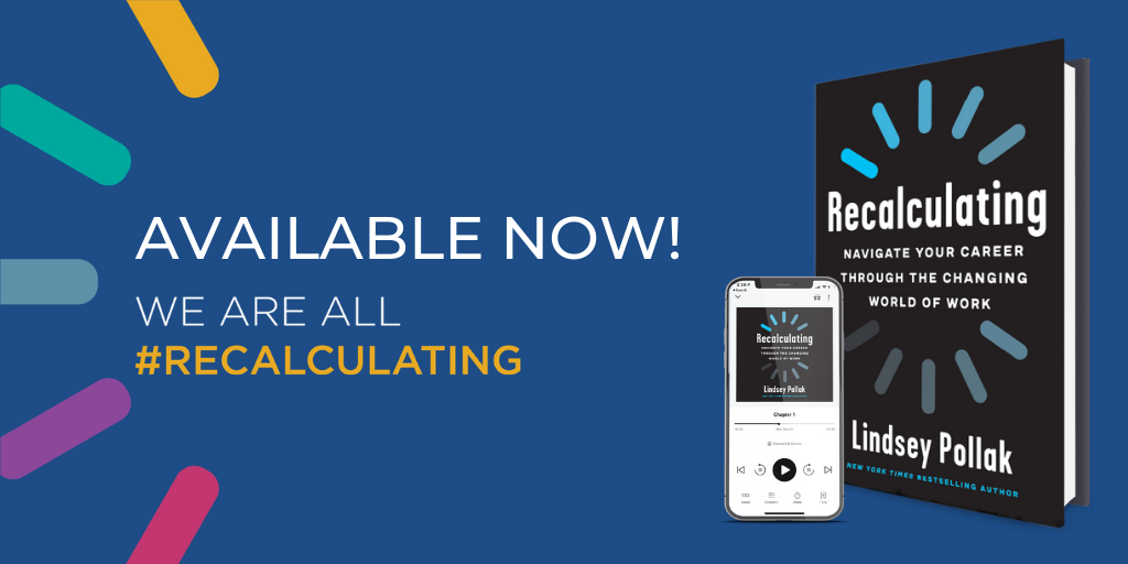 Recalculating book available now. We are all recalculating