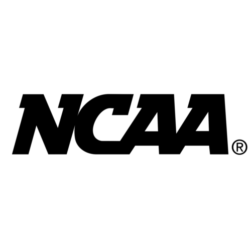 ncaa logo black and white