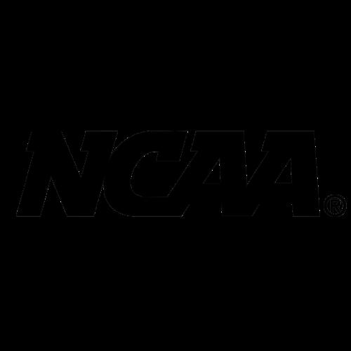 ncaa logo black and white